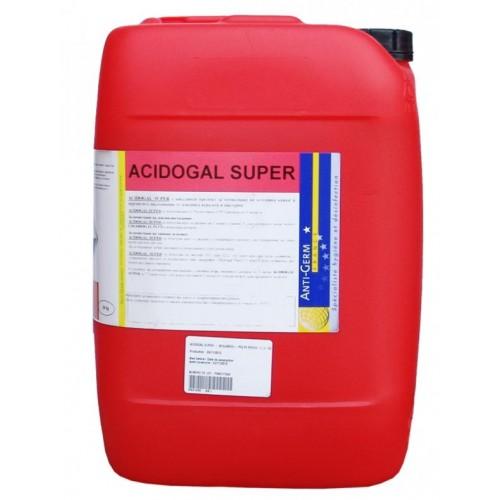 Препарат за премахване на варовикови наслагвания и млечен камък в доилни агрегати и цистерни Acidogal Super