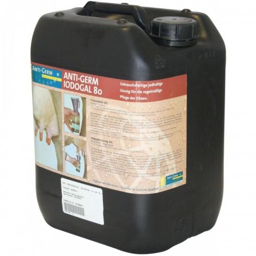Дезинфектант /йод/ за употреба след  доене Iodogal 80