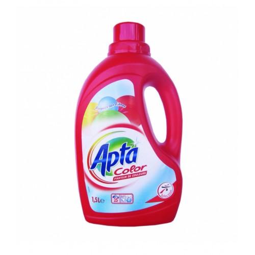 Tечен препарат за цветно пране Apta Color 3л
