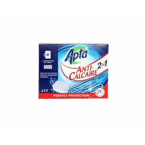 Таблетки против котлен камък за перални машини 2в1 Apta Anti-Calcaire