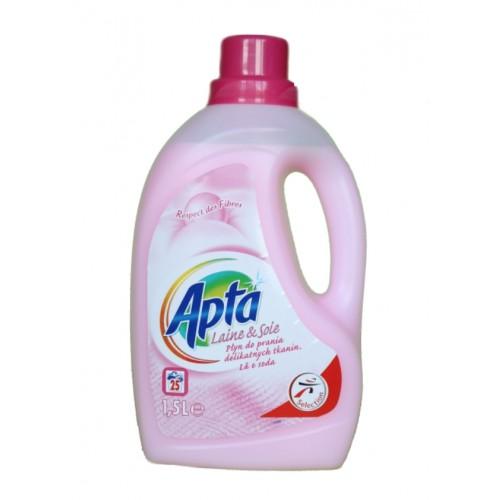 Течен перилен препарат за вълна, коприна и деликатни тъкани Apta 1.5л