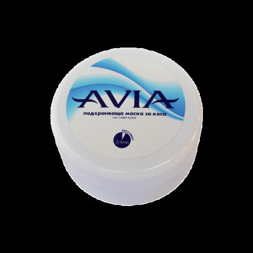 Подхранваща маска за коса със сива хума Avia
