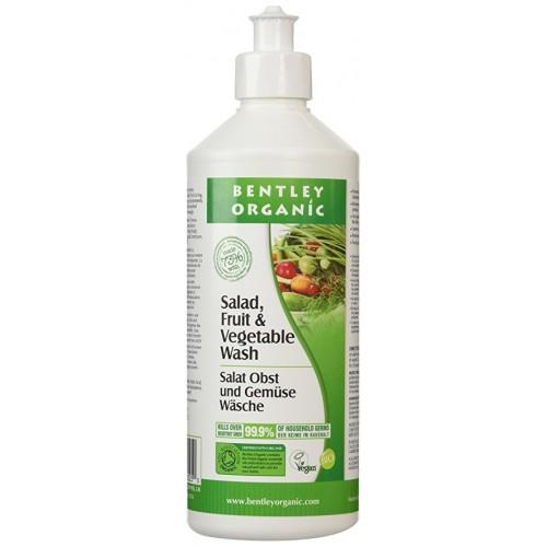 Био измиваща течност за плодове и зеленчуци Bentley Organic