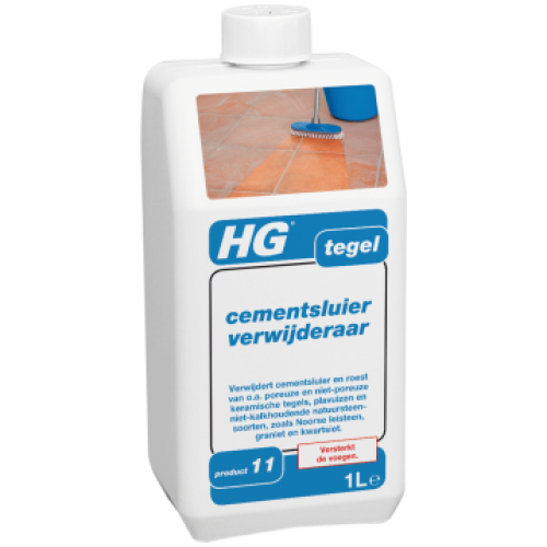 Препарат за отстраняваме на цимент и варов разтвор HG 1л