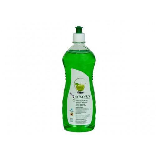 Препарат за измиване на съдове Hyssopus зелена ябълка 750мл