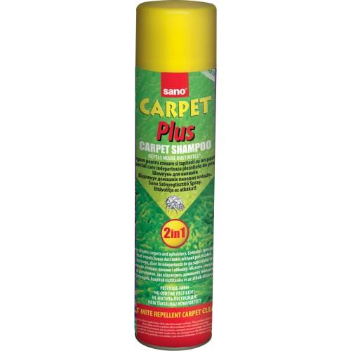 Пяна за почистване на килими и дамаски 2в1 Sano Carpet Plus