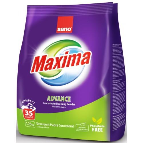 Прах за пране с активен кислород Sano Maxima Advance
