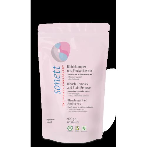 Био препарат с активен кислород за избелване и премахване на петна Sonett 900гр