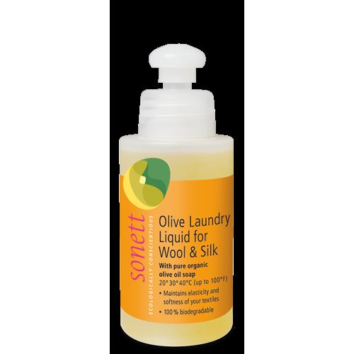 Био маслинов перилен препарат за вълна и коприна Sonett 120мл