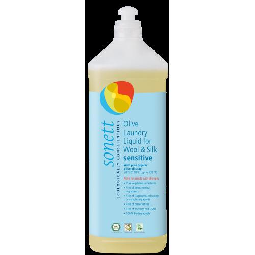 Био маслинов перилен препарат за вълна и коприна Sonett Sensitive 1л