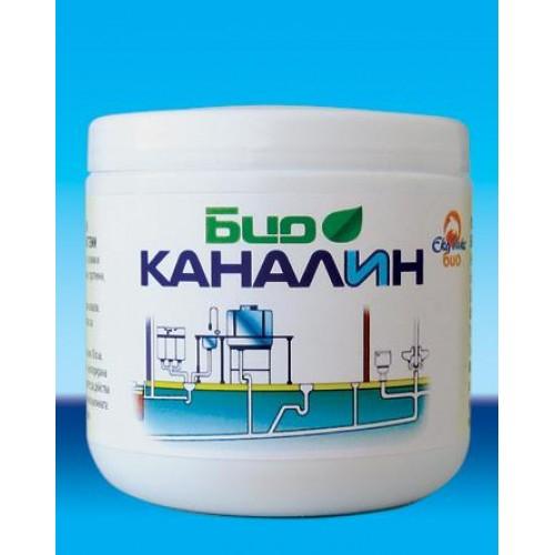 Препарат за отпушване на канали и премахване на миризми Био каналин 200гр