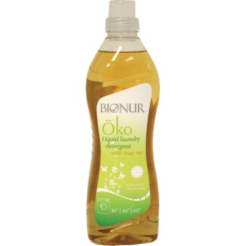 Eкологичен течен перилен препарат BIONUR със сапунено орехче 1л
