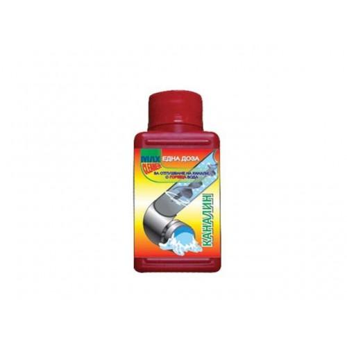 Препарат за отпушване на канали със студена вода Max Cleaner